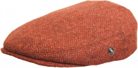 Flat cap - City Sport Caps Lisses (ruoste)