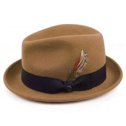 Hatut - Crushable Blues Trilby (vaaleanruskea)