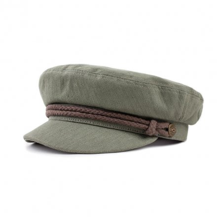 Flat cap - Brixton Fiddler (light olive/brown)