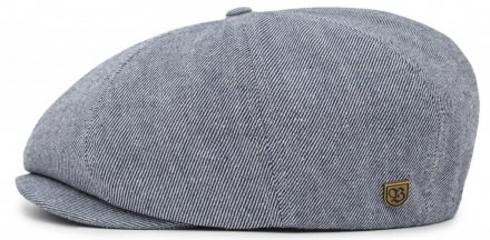 Flat cap - Brixton Brood (blue denim)