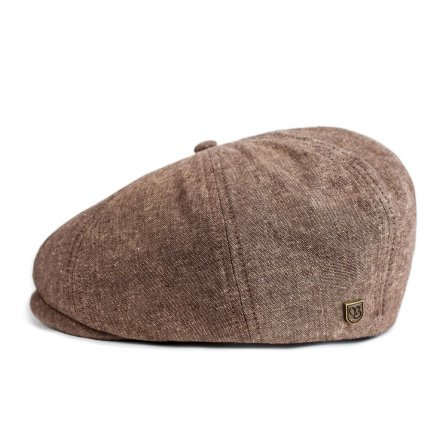 Flat cap - Brixton Brood (light brown)