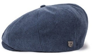 Flat cap - Brixton Brood (dark denim)