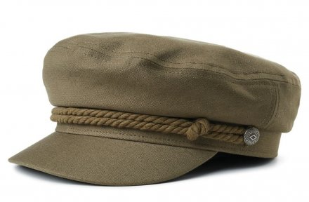 Flat cap - Brixton Fiddler (Military olive)