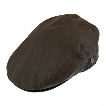Flat cap - Jaxon Hats Oil Cloth Flat Cap (ruskea)