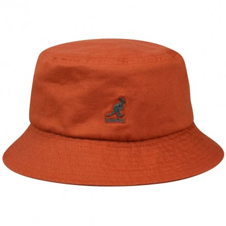 Hatut - Kangol Washed Bucket (ruoste)