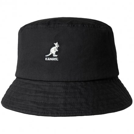 Hatut - Kangol Washed Bucket (musta)