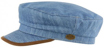 Fiddler cap - MJM Marines Cotton (sininen)