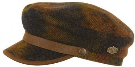 Fiddler cap - MJM Marines Wool (ruskea)