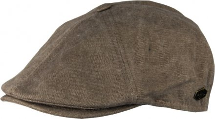 Flat cap - MJM Rebel Canvas (khaki)