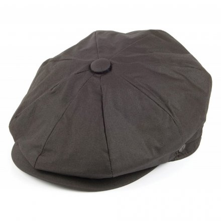 Flat cap - Jaxon Hats Oil Cloth Newsboy Cap (ruskea)