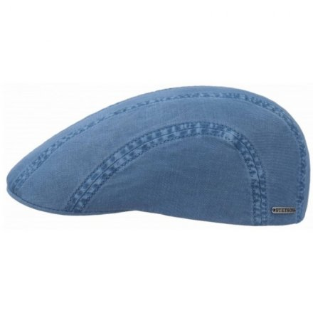 Flat cap - Stetson Madison Cotton (sininen)