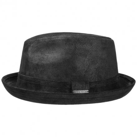 Hatut - Stetson Radcliff Leather (musta)
