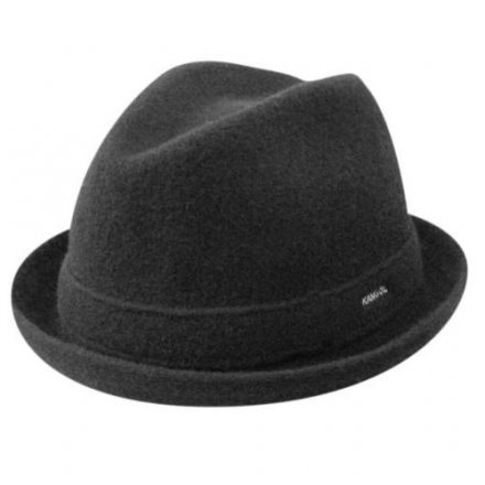 Hatut - Kangol Wool Player (musta)