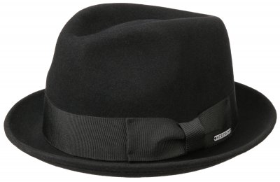 Hatut - Stetson Colby Wool/Cashmere (musta)