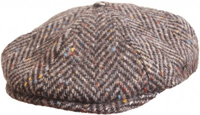 Flat cap - City Sport Caps Langres (harmaa mix)