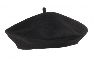 Baretti - Wool Fashion Beret (musta)