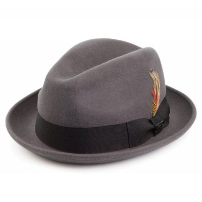 Hatut - Crushable Blues Trilby (harmaa)