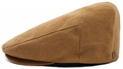 Flat cap - Brixton Hooligan (dark tan)
