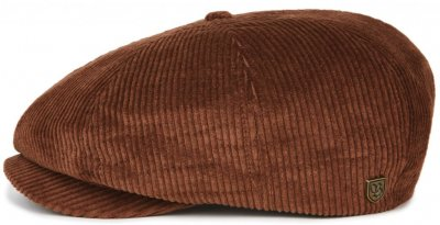 Flat cap - Brixton Brood (brown cord)