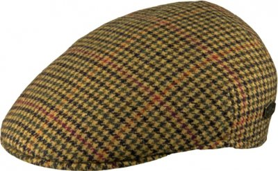 Flat cap - MJM Country Wool (beige mix)