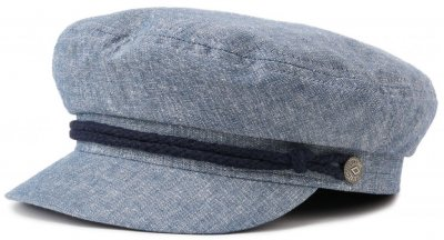 Flat cap - Brixton Fiddler (light blue)