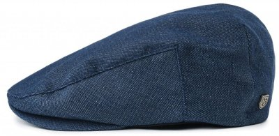 Flat cap - Brixton Hooligan (dark denim)
