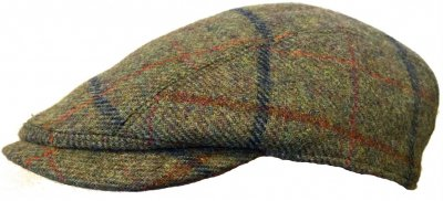 Flat cap - Lawrence and Foster Linton (vihreä tweed)