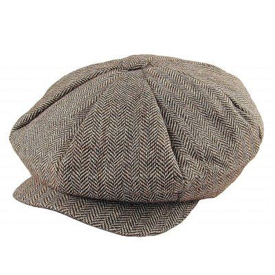 Lippalakit - Jaxon Herringbone Big Apple Cap (ruskea)