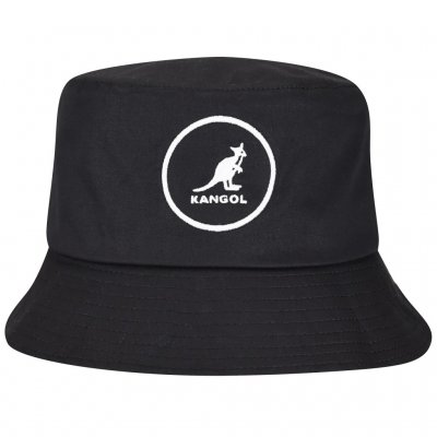 Hatut - Kangol Cotton Bucket (musta)