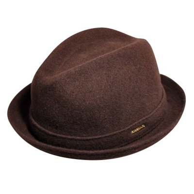 Hatut - Kangol Wool Player (ruskea)