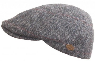 Flat cap - MJM Broker Virgin Wool (harmaa)