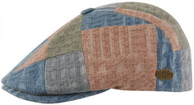 Flat cap - MJM Rebel Cotton (patchwork)