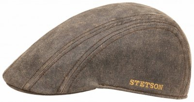 Flat cap - Stetson Madison Old Cap Winter (ruskea)