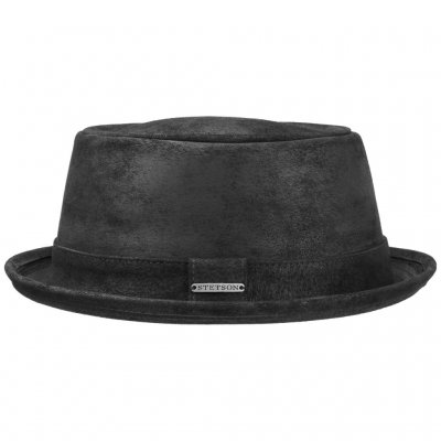 Hatut - Stetson Hobbs Leather (musta)