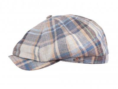 Flat cap - Wigéns Newsboy Classic Cap (sininen-multi) - Flat caps ... f04ea2c0c2b