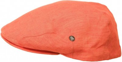 Flat cap - City Sport Caps Poissy (orange)